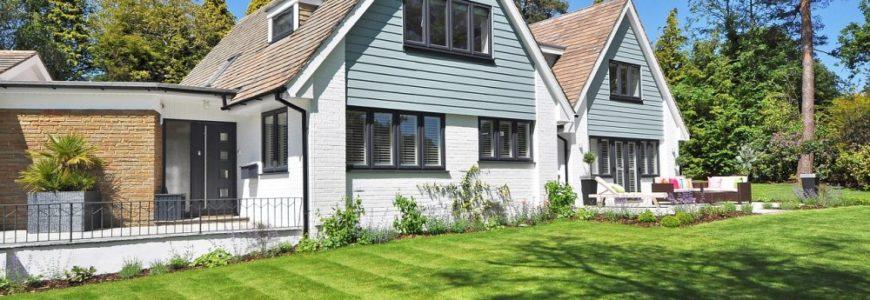 Kom närmare trädgården med en dubbel altandörr
