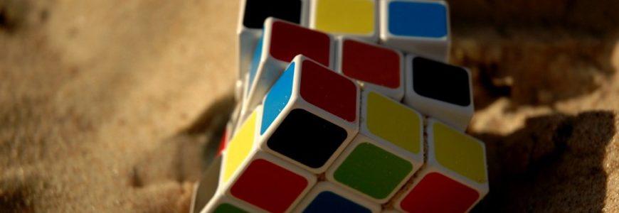 Rubiks kub kan erbjuda utmaningar under lugna sommardagar