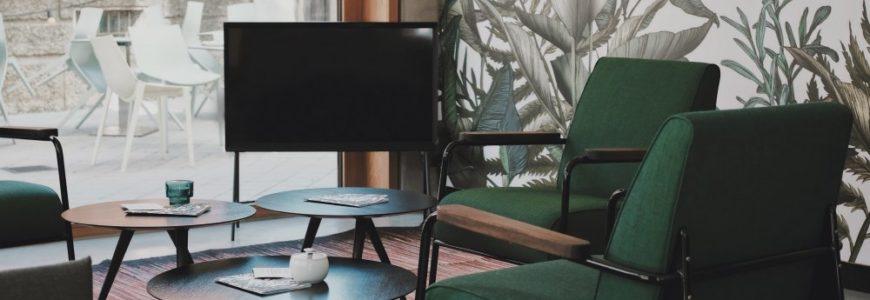 Tapet med fotomotiv ger väggarna liv och kan hjälpa till att skapa det snyggaste rummet